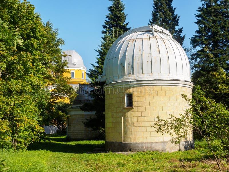 Обсерватория Pulkovo стоковые фотографии rf