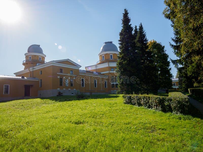 Обсерватория Pulkovo стоковое изображение