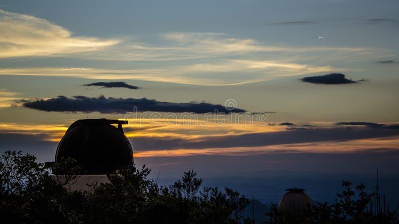 Обсерватория UFMG, мины Gerais Бразилия Caeté стоковое фото