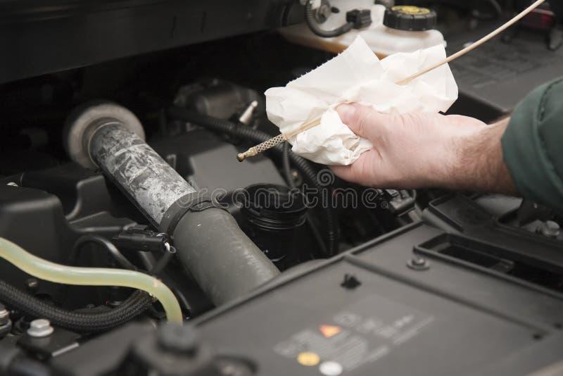 обслуживание двигателя стоковые фото