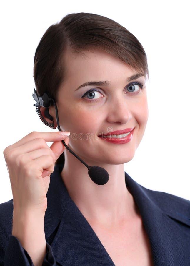 обслуживание клиента агента стоковая фотография