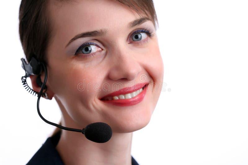 обслуживание клиента агента стоковые фото