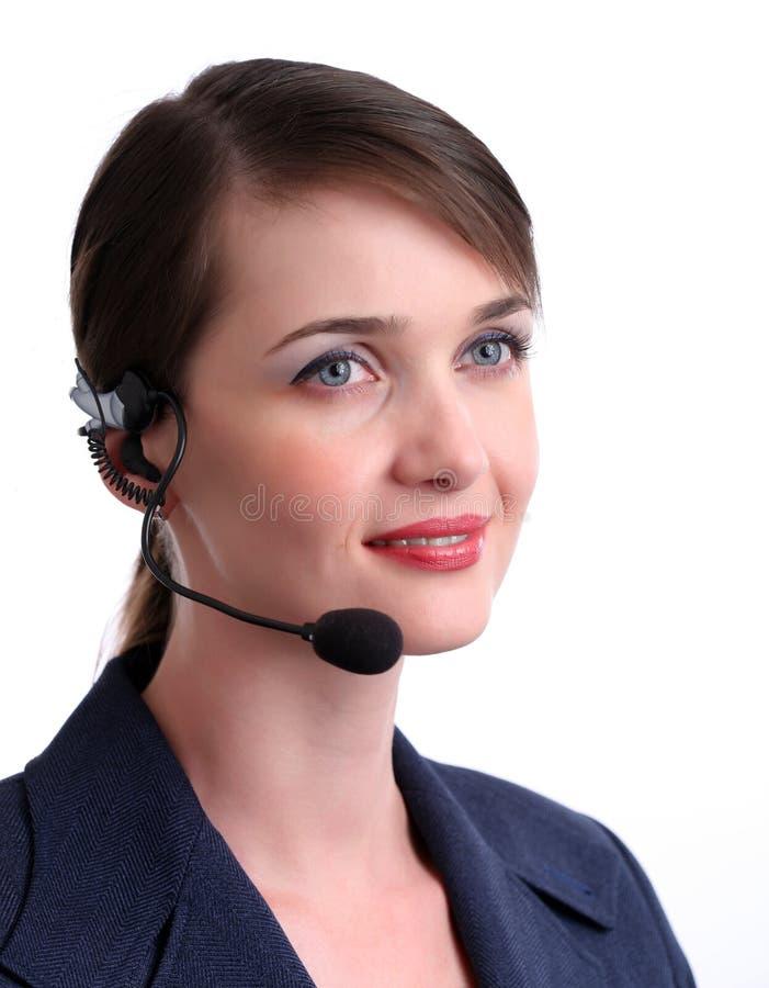 обслуживание клиента агента стоковая фотография rf