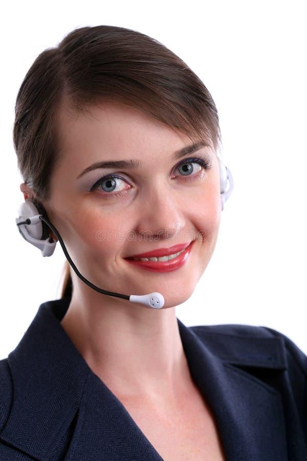 обслуживание клиента агента стоковое изображение