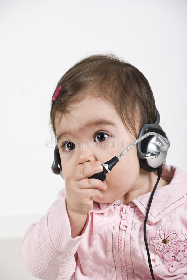 обслуживание клиента младенца стоковые фото