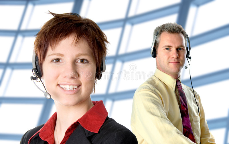 обслуживание клиента стоковое фото