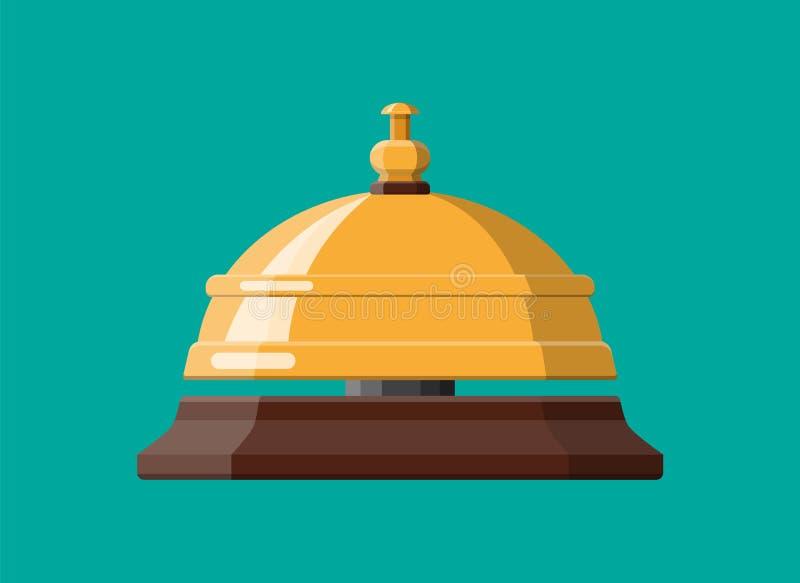 обслуживание колокола золотистое бесплатная иллюстрация