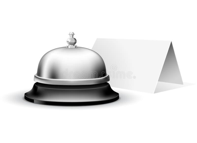 обслуживание колокола иллюстрация вектора