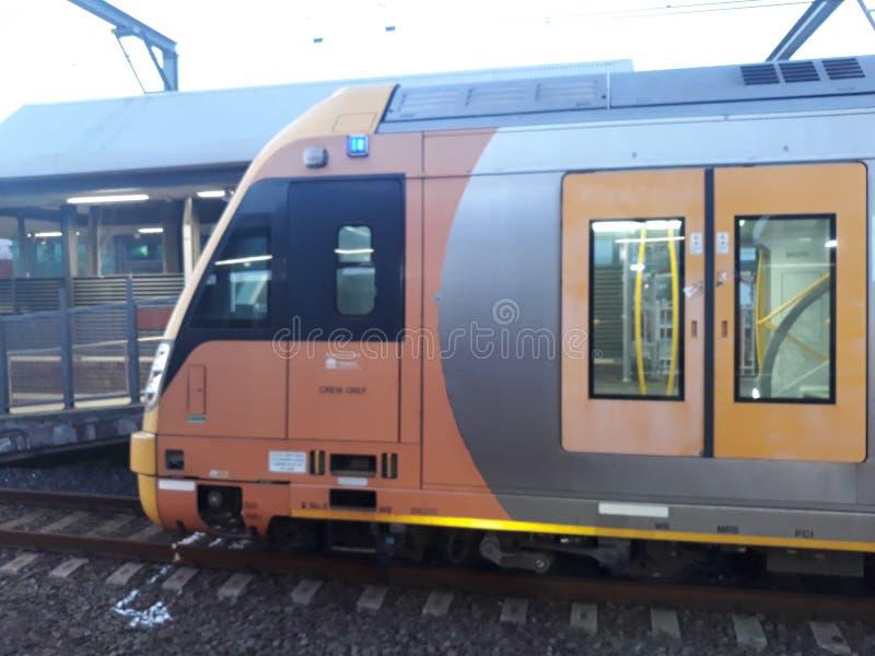 Обслуживание поезда Сиднея, Австралии стоковые фотографии rf