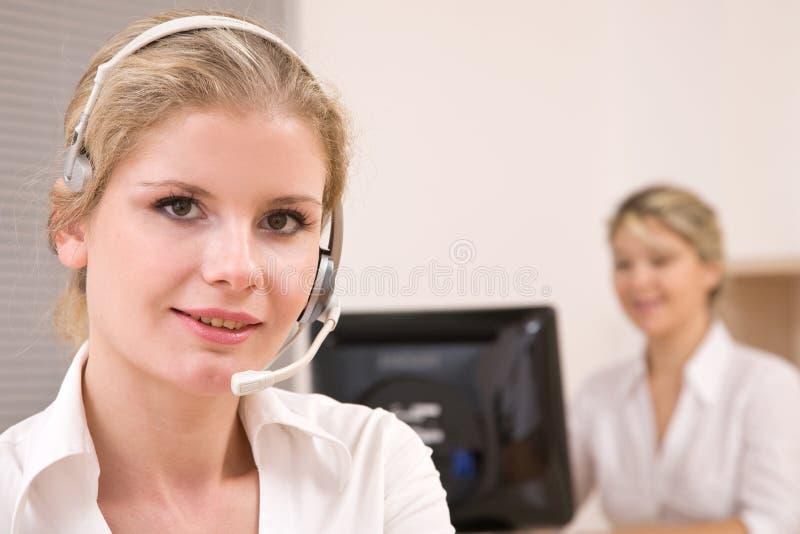 обслуживание представителей клиента стоковое фото rf
