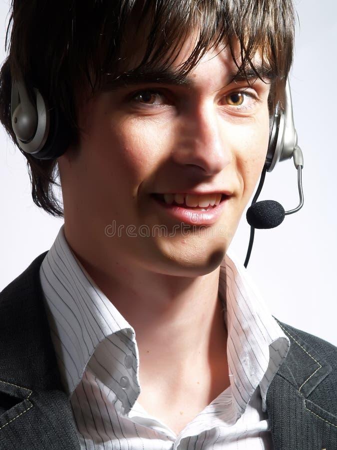 обслуживание представителя клиента стоковые изображения