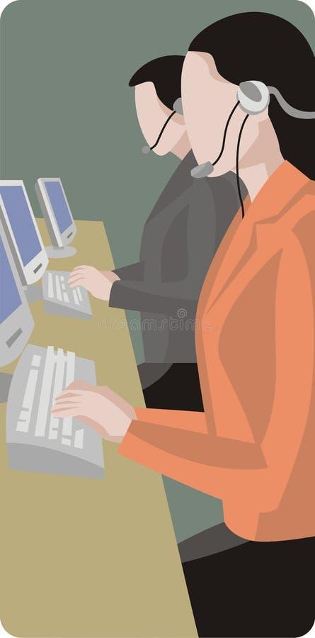 обслуживание серии иллюстрации иллюстрация штока