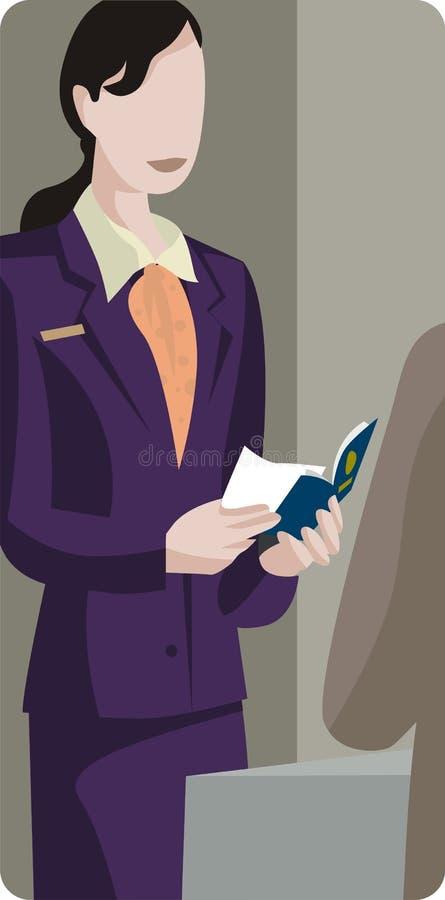 обслуживание серии иллюстрации иллюстрация вектора