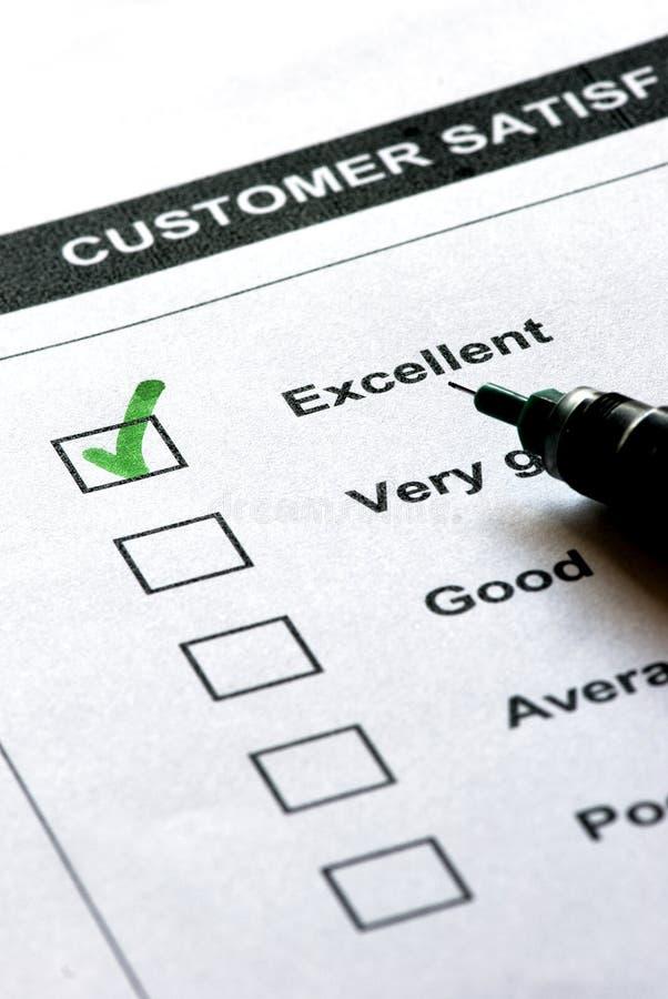 обслуживание удовлетворения клиента стоковое изображение rf