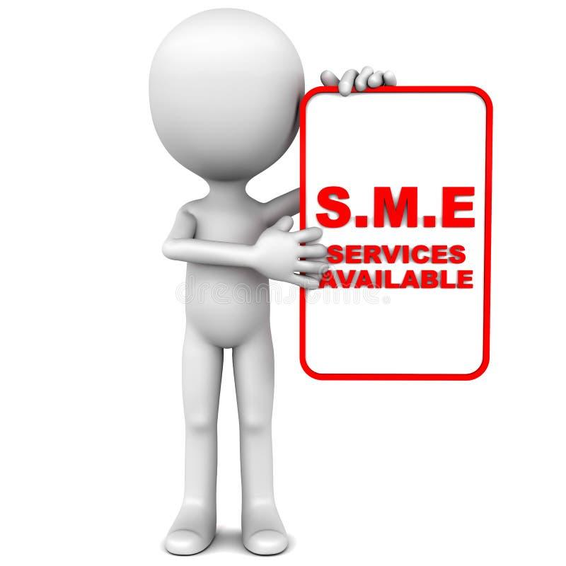 Обслуживания SME иллюстрация вектора