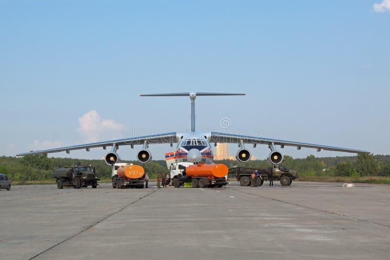 обслуживать воздушных судн стоковые фотографии rf