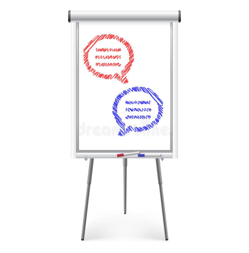 обсуждение принципиальной схемы иллюстрация штока