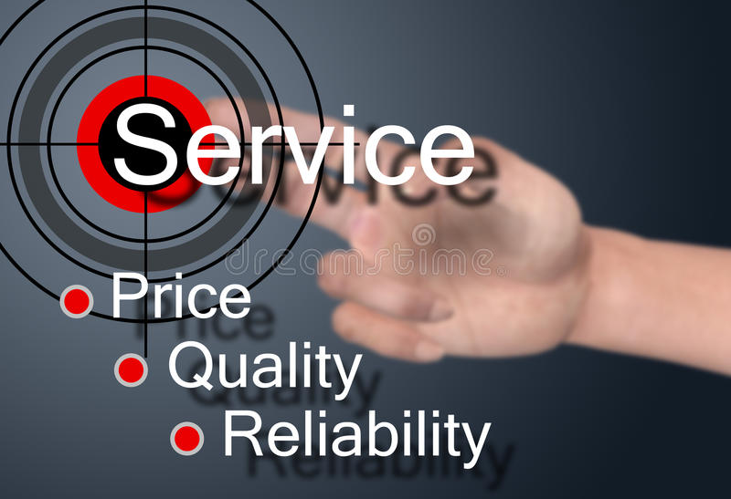 Обслуживание клиента стоковые изображения