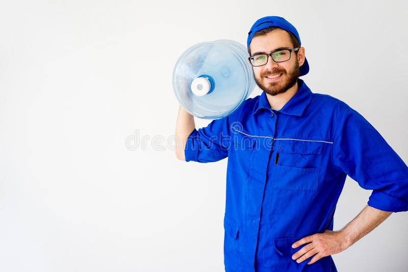 Обслуживание поставки воды стоковая фотография rf