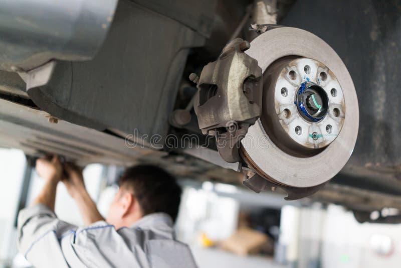 Обслуживание ремонта автомобилей стоковые фото