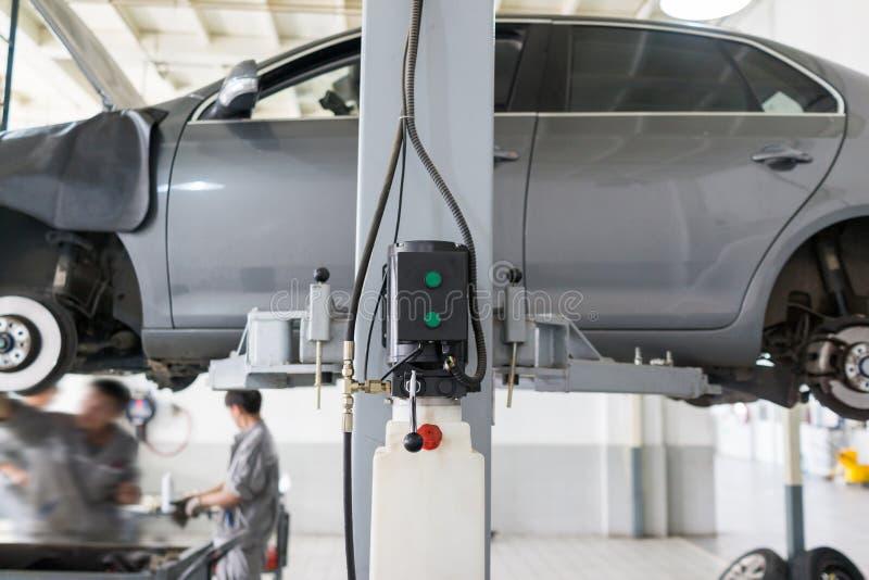 Обслуживание ремонта автомобилей стоковое изображение rf
