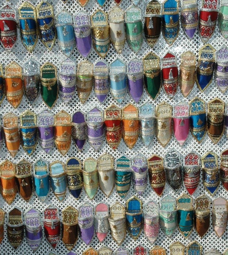 обувает сувенир Тунис стоковое изображение rf
