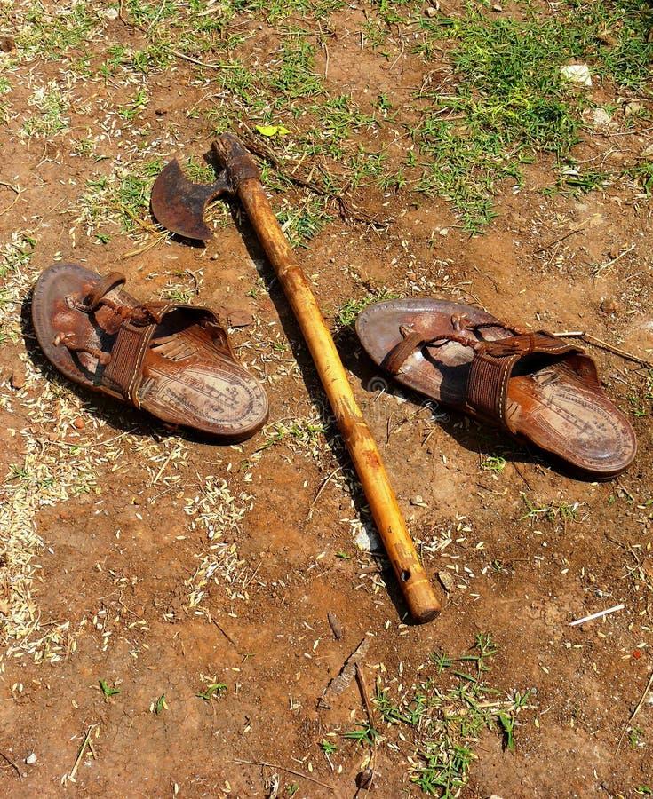обувь хуторянина оси стоковые изображения