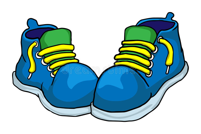 Обувь иллюстрация штока