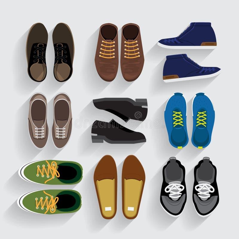 Обувь иллюстрация вектора