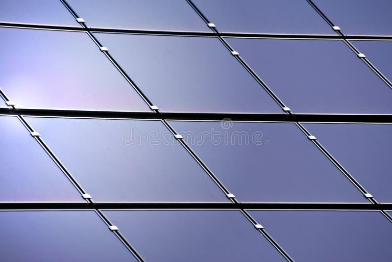 обшивает панелями солнечное стоковые изображения rf