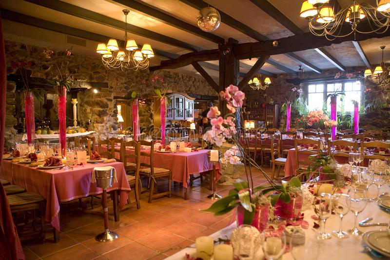 Общая программа деревенских столовой и ресторана стоковые фото