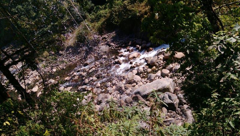 Общая тема реки стоковая фотография
