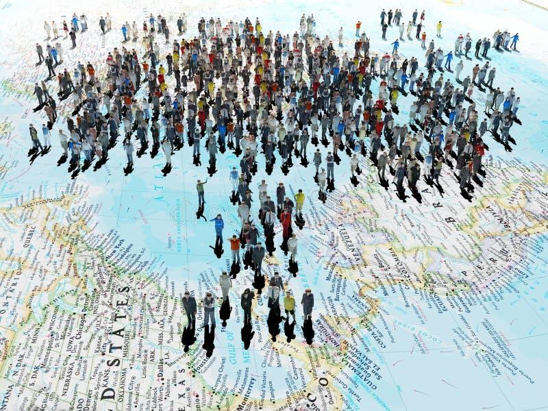Общественная группа людей бесплатная иллюстрация