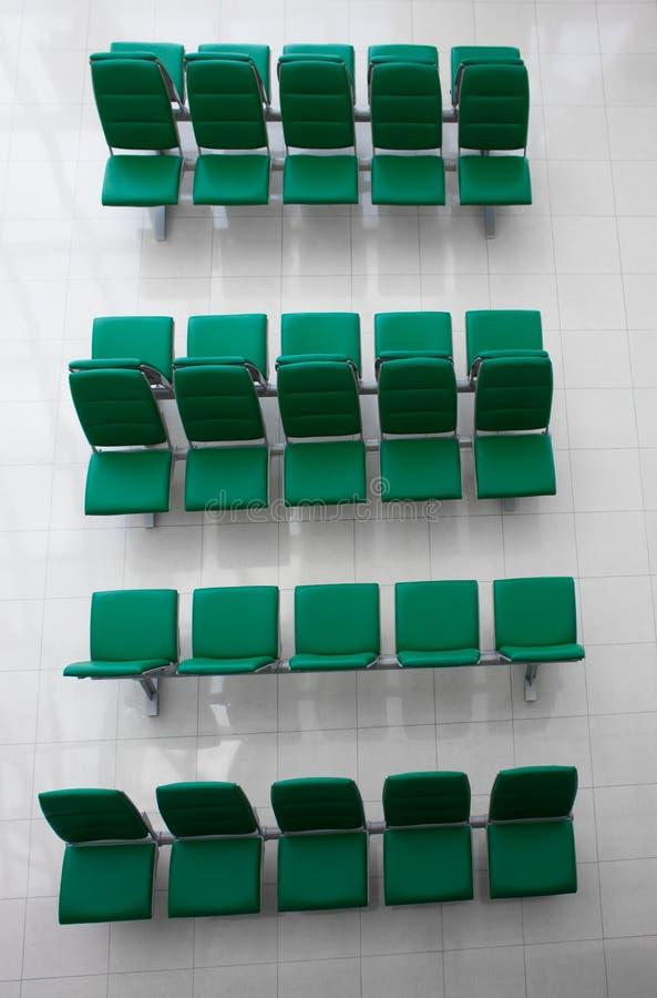 Общественное здание стула стоковое изображение