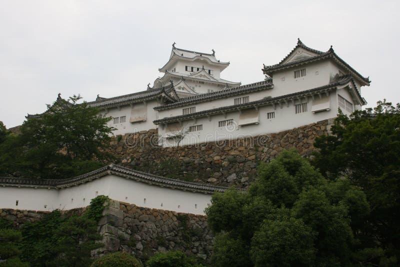 Общественный взгляд замка Himeji стоковая фотография