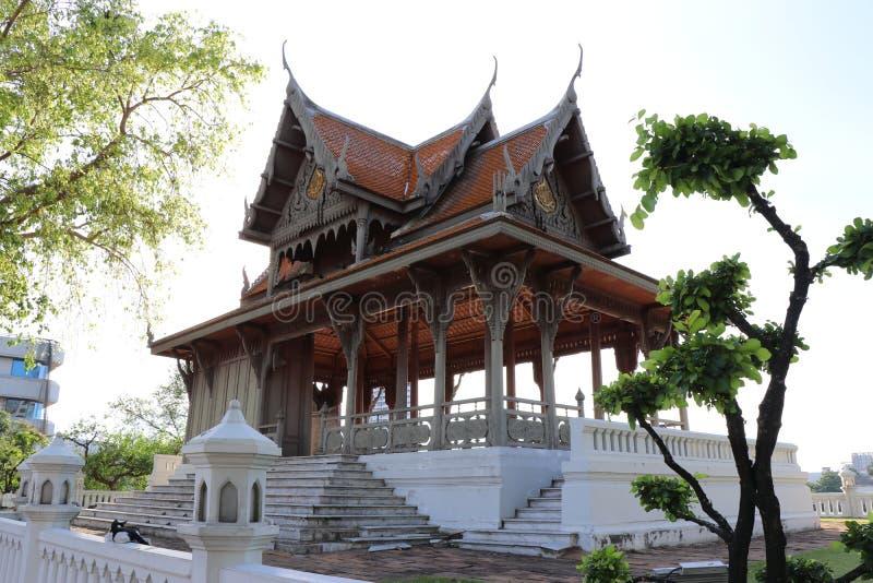 Общественный парк Santi Chai Prakan стоковое фото rf