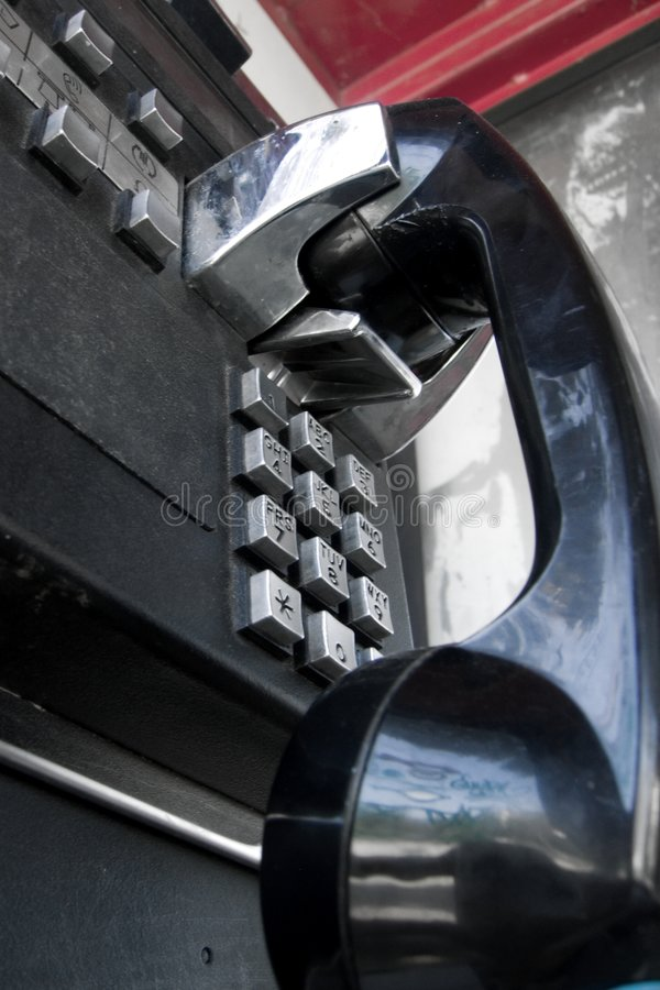 общественный телефон стоковые фото