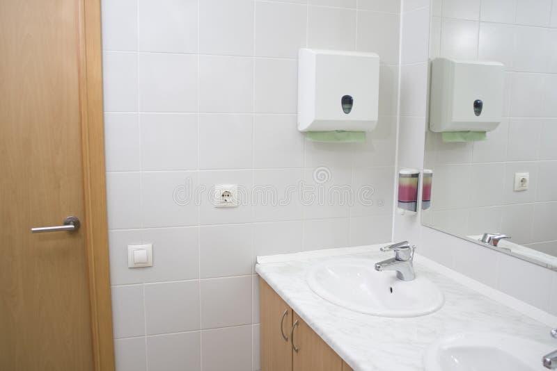 общественный туалет стоковое изображение