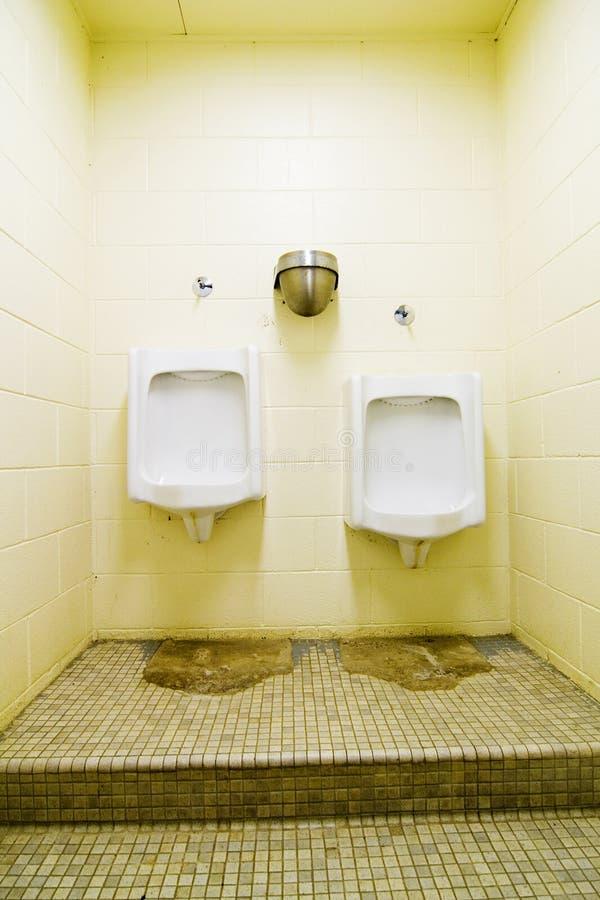 общественный urinal стоковое изображение rf