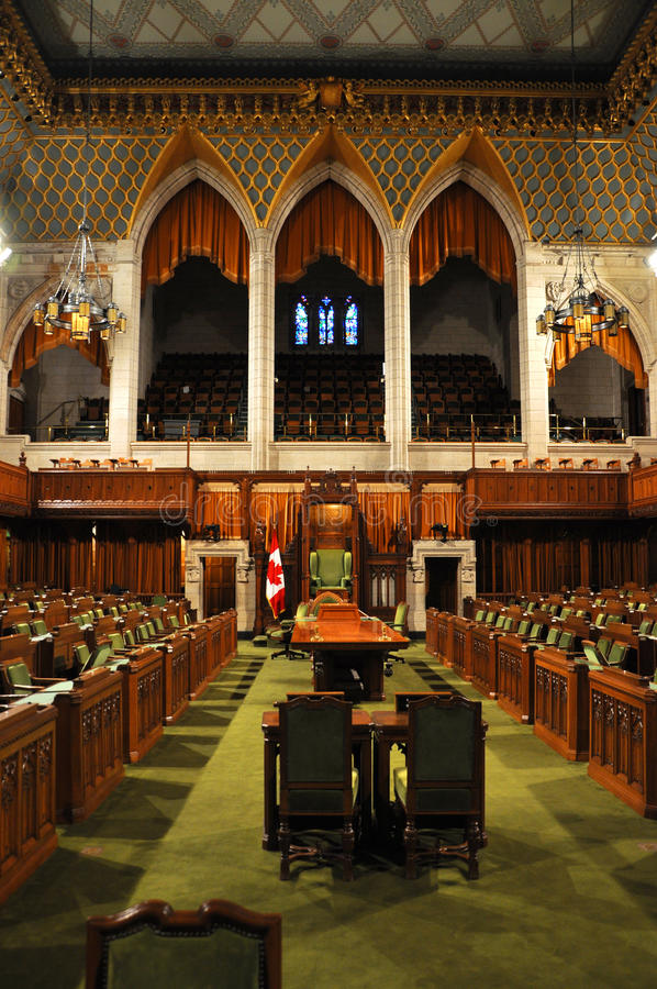 общие Канады расквартировывают парламента ottawa стоковые изображения rf