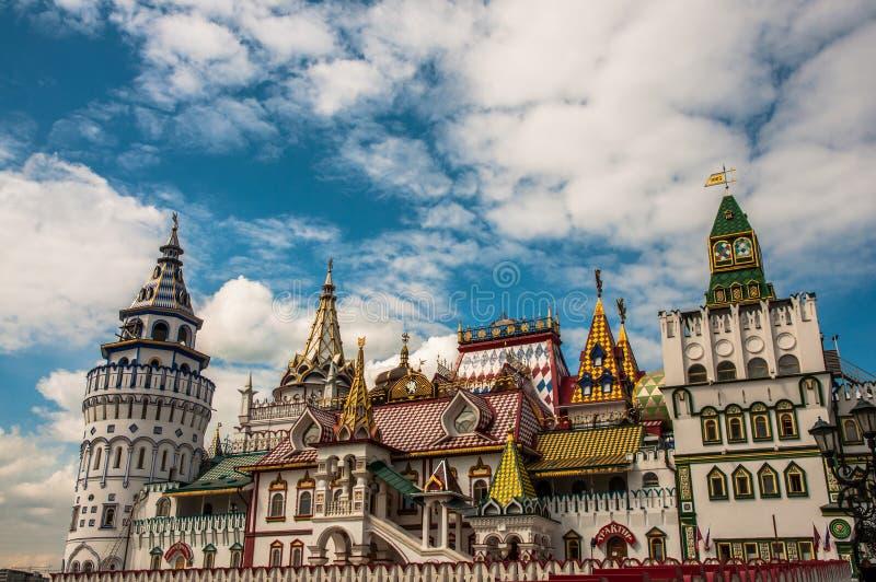 общий взгляд kremlin moscow izmailovo стоковые фото