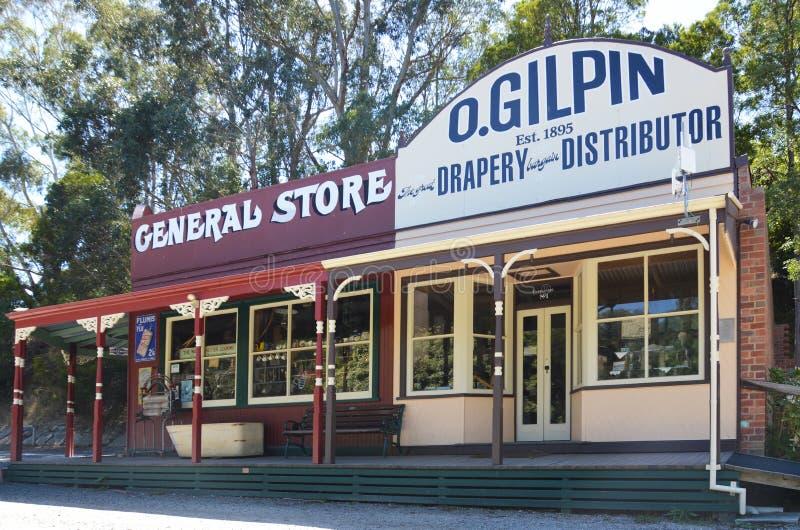 общий старый магазин стоковые фото