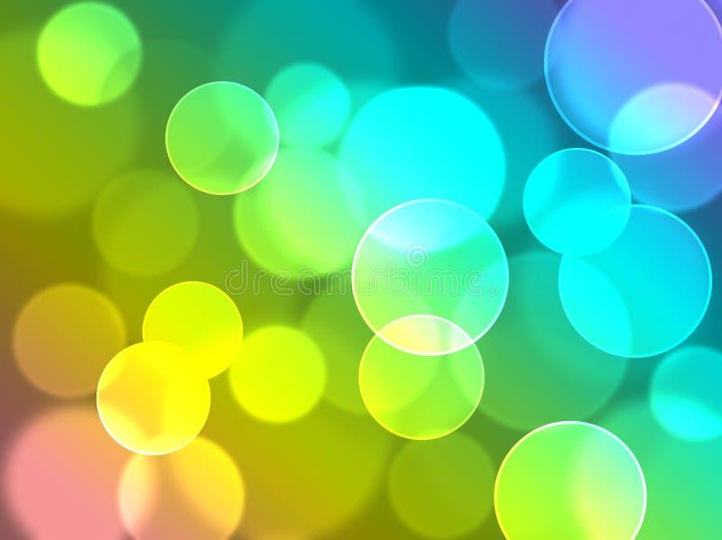 объезжает цветастое иллюстрация вектора