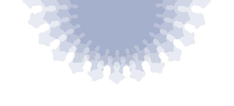 объезжает social иллюстрация вектора