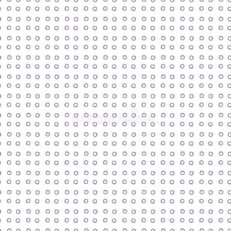 Объезжайте бумагу цифров, геометрическую предпосылку, точки геометрические иллюстрация вектора