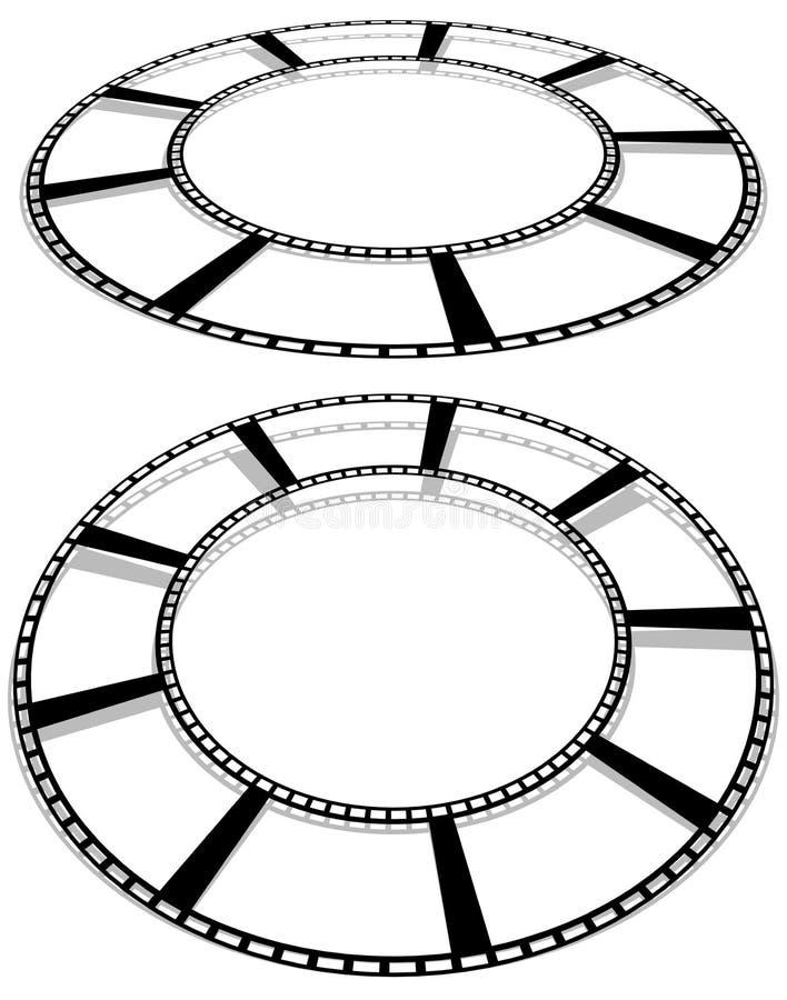 Download Объезжайте изолированное Filmstrip с тенью для фотографии, Multimedi Иллюстрация вектора - иллюстрации насчитывающей concept, мультимедиа: 81806216