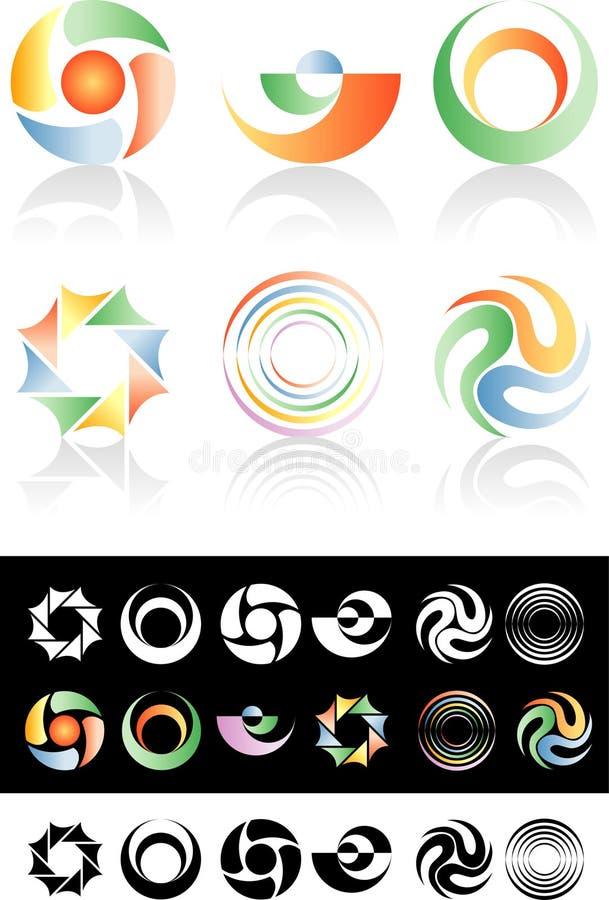 объезжайте логосы бесплатная иллюстрация