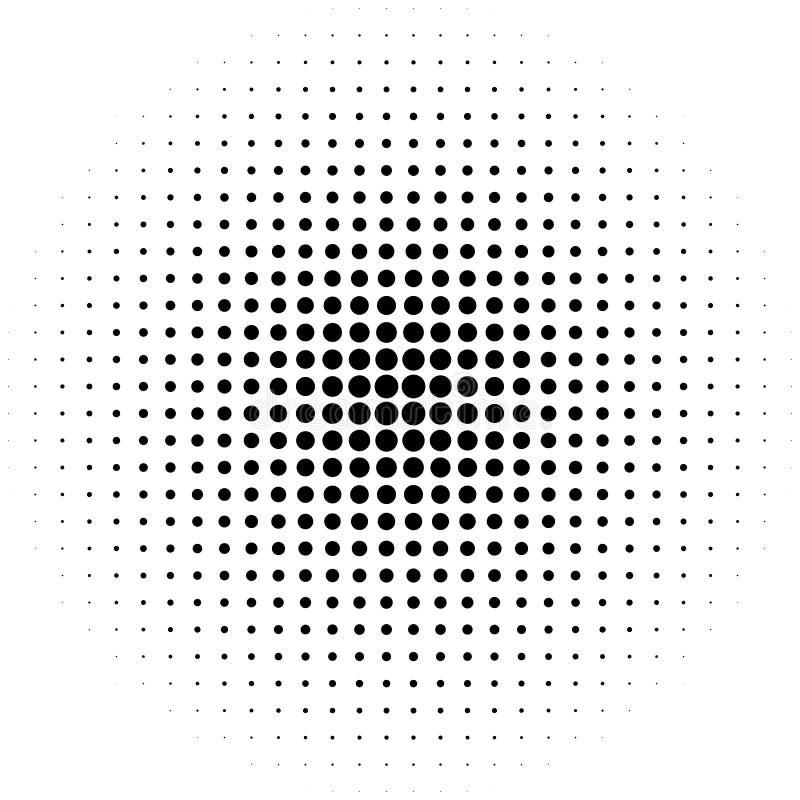Объезжайте элемент полутонового изображения, monochrome абстрактный график для DTP, pr бесплатная иллюстрация