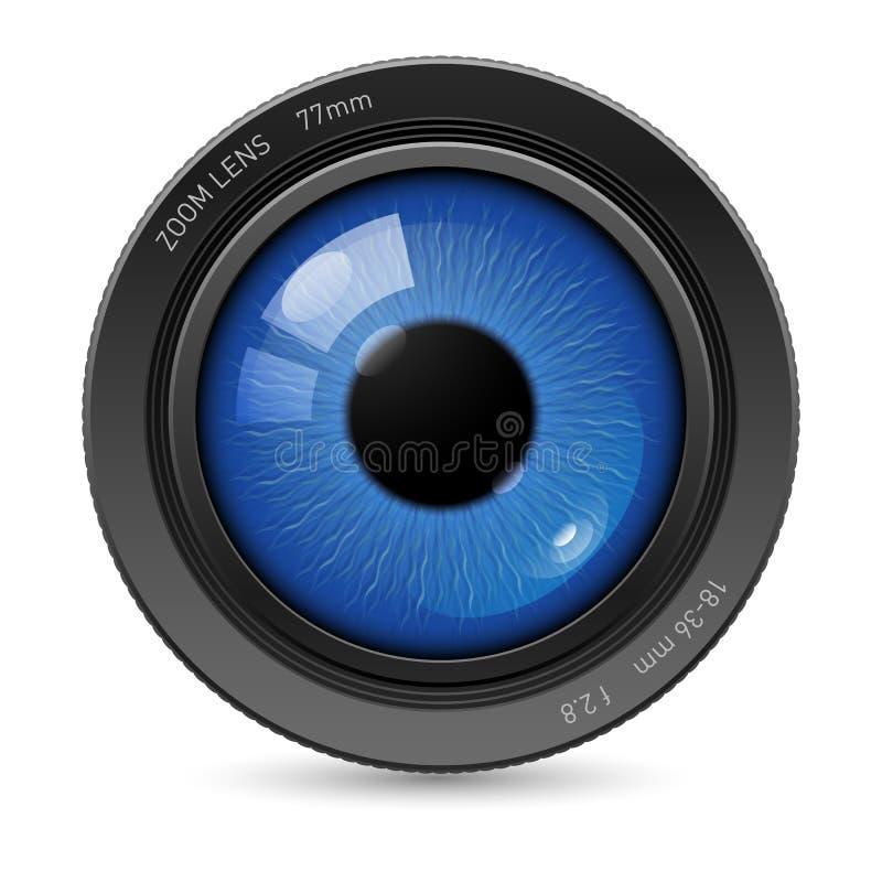 Объектив глаз камеры бесплатная иллюстрация