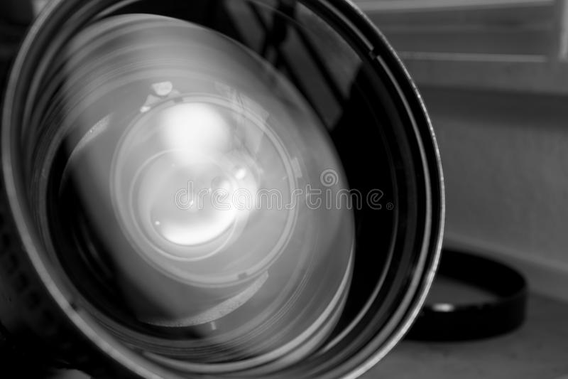 Объектив задачи фото стоковая фотография rf